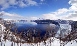 Озеро Mashu Хоккаидо стоковые изображения
