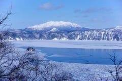 Озеро Mashu, Hokaido, Япония Стоковая Фотография RF