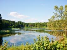 Озеро 1 Masurian Стоковые Изображения