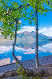 Озеро McDonald, национальный парк ледника, Монтана, США Стоковое фото RF