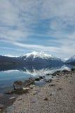 Озеро McDonald Стоковая Фотография