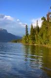 озеро mcdonald стоковое изображение rf
