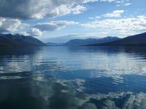 озеро mcdonald Стоковые Изображения