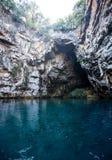 Озеро Melissani подземное Стоковые Изображения