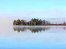 озеро mi walloon Стоковые Фотографии RF