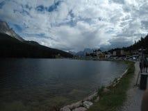 Озеро Misurina Стоковая Фотография