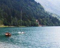 Озеро Molveno Стоковое Изображение RF