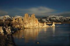 озеро mono Стоковые Изображения
