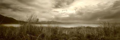 озеро mono Стоковые Фото