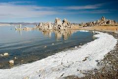озеро mono Стоковая Фотография