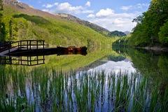 озеро montenegro biograd Стоковое Фото