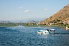 озеро montenegro skadar Сони dsc Балканов самое большое Стоковое Изображение RF