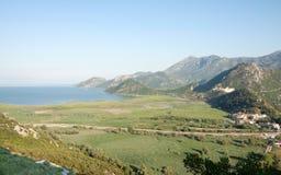 озеро montenegro skadar Сони dsc Балканов самое большое Стоковое Изображение