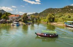 озеро montenegro skadar Сони dsc Балканов самое большое Стоковые Изображения RF