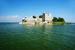 озеро montenegro skadar Стоковое Фото