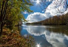 озеро montseny santa Испания fe Стоковое фото RF