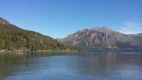Озеро Moreno стоковое изображение rf
