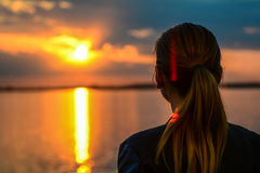 Озеро Morii Стоковая Фотография RF