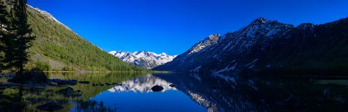 Озеро Multa Стоковое Фото