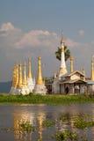 озеро myanmar inle Стоковая Фотография RF