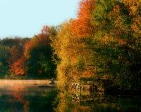 озеро n y carmel Стоковые Фото