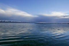 Озеро Nam Co в Тибете Стоковая Фотография