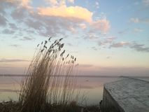 Озеро Nero в Ростове большой Стоковые Изображения RF
