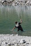 Озеро Neves Италия стоковые изображения rf