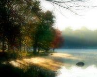 озеро New York carmel Стоковые Фотографии RF