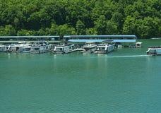 Озеро Norris сформировало запрудой Norris на клинче реки в долине США Теннесси Стоковые Изображения