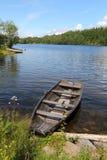 Озеро Norsjo в Норвегии Стоковые Изображения