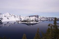 озеро np кратера Стоковая Фотография