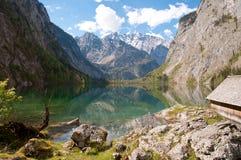 Озеро Obersee, Германия стоковые фотографии rf
