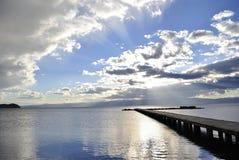 Озеро Ohrid Стоковые Фотографии RF