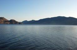 озеро okanagan Стоковое Изображение