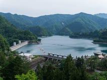 Озеро Okutama в токио, Японии Стоковое фото RF