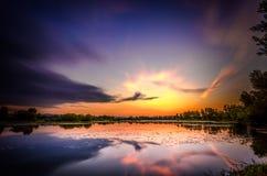 Озеро Oresje Стоковое Изображение RF
