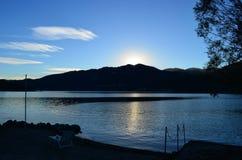 Озеро Orta, Италия Стоковые Фото