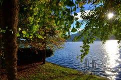 Озеро Orta и природы Стоковое Изображение RF