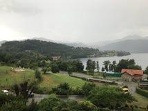 Озеро Orta Стоковая Фотография RF
