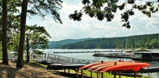 Озеро Ouachita Стоковая Фотография