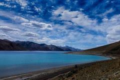 Озеро Pangong Стоковое Изображение