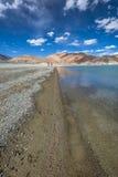 Озеро Pangong Стоковые Изображения