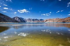 Озеро Pangong Стоковые Изображения RF