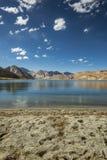 Озеро Pangong Стоковая Фотография