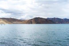 Озеро Pangong Стоковое Изображение RF