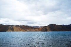 Озеро Pangong Стоковое Фото