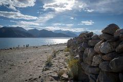Озеро Pangong, Ladakh Стоковые Фото