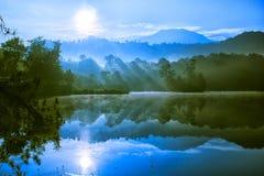 Озеро Patengan Стоковые Изображения