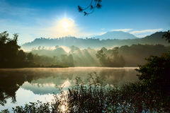 Озеро Patengan Стоковое фото RF